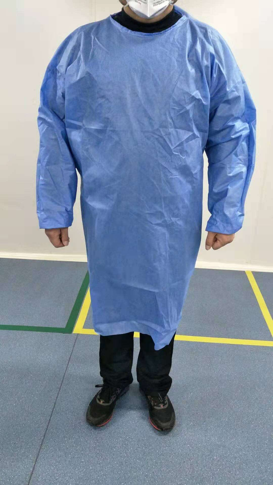 PP SMS Hospital Gowns – High Quality